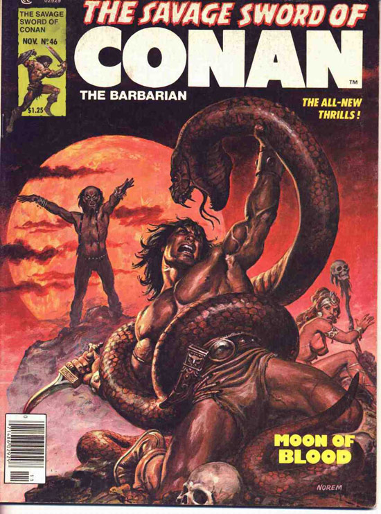 The savage sword of Conan-lot 78 books-serie oro-forum-planet
